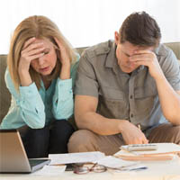 couple facing bankruptcy and in need of a bakruptcy lawyer in Maryland